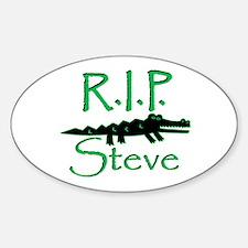 R.I.P. Steve Oval Decal