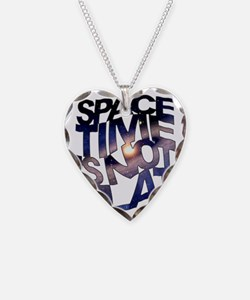 Space Time is Not Flat Necklace