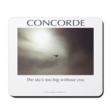 Concorde Memorial Mousepad