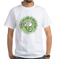 cp oncology nurse green round Shirt