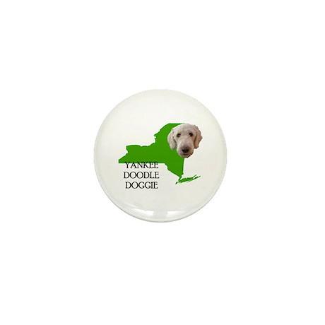 New York Labradoodle Mini Button