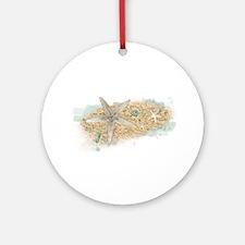 Sea Treasure Ornament (Round)