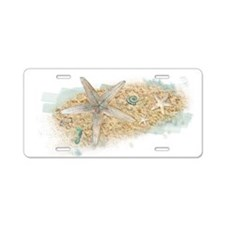 Sea Treasure Aluminum License Plate