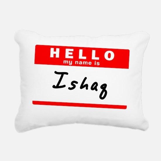 Ishaq Rectangular Canvas Pillow