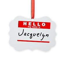 Jacquelyne Ornament