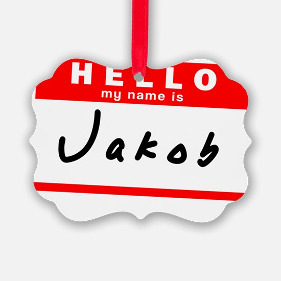 Jakob Ornament