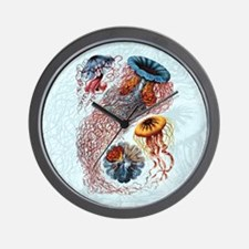 haeckeljellyfish1SC Wall Clock