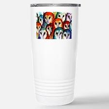 Owl Audience Travel Mug