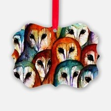 Owl Audience Ornament