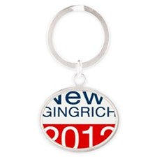 NG-2012-T-2-Bl Oval Keychain