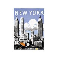 Vintage New York2.gif 5'x7'Area Rug