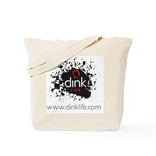 DINKLIFE splatter Tote Bag