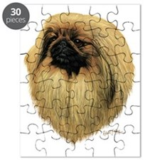 Peke Head dark Puzzle