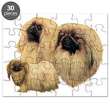 Peke Multi Dark Puzzle