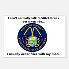 SUNY French Fries Postcards (Package of 8)