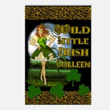WILD-LITTLE-IRISH-COLLEEN Postcards (Package of 8)