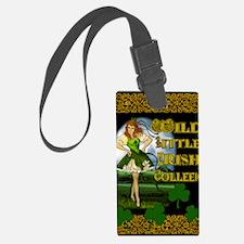 WILD-LITTLE-IRISH-COLLEEN-11x17_ Luggage Tag