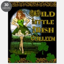 WILD-LITTLE-IRISH-COLLEEN-11x17_print-MINI- Puzzle