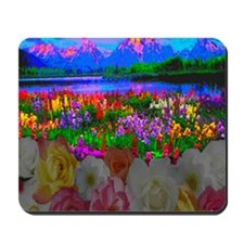 Room With A View 10 10 200 Mousepad