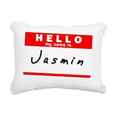 Jasmin Rectangular Canvas Pillow