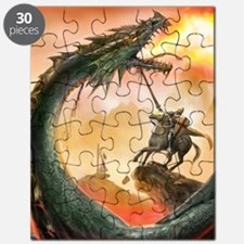 saint george and the dragon Puzzle
