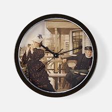 Captain's Daughter Wall Clock