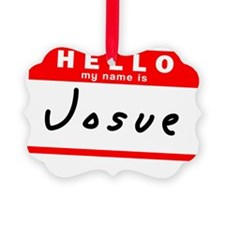 Josue Picture Ornament