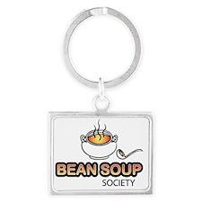 BeanSoup.society.logo1.500 Landscape Keychain