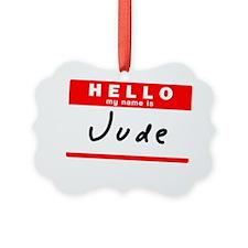 Jude Ornament