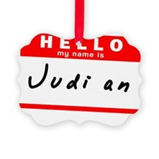 Judi an Ornament