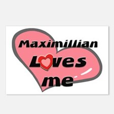 maximillian loves me  Postcards (Package of 8)