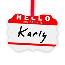 Karly Picture Ornament