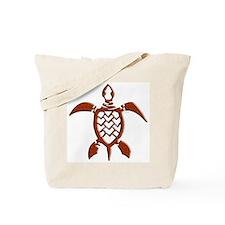 Tribal Sea Turtles Tote Bag