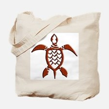 Tribal Sea Turtles Tote Bag
