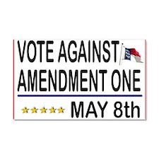 Vote Against Car Magnet 20 x 12