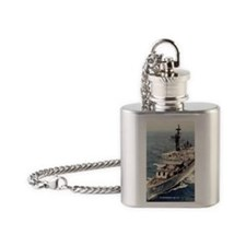 henderson rectangle magnet Flask Necklace