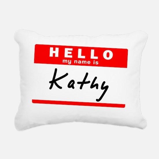 Kathy Rectangular Canvas Pillow