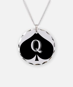 qos Necklace Circle Charm