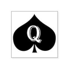 "qos Square Sticker 3"" x 3"""
