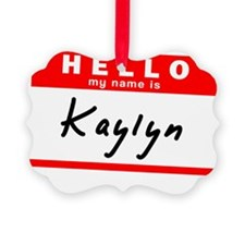 Kaylyn Picture Ornament