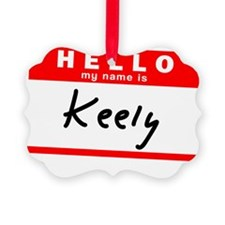 Keely Ornament