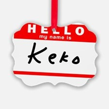 Keko Ornament