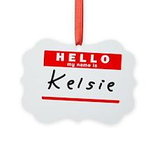 Kelsie Ornament