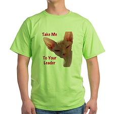Nikita Take me to your leader Cut ou T-Shirt