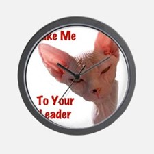 Nikita Take me to your leader Cut out Wall Clock