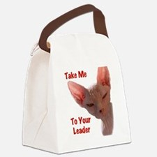 Nikita Take me to your leader Cut Canvas Lunch Bag