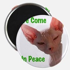 Nikita We come in peace Cut out 2 Magnet