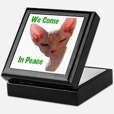 Nikita We come in peace Cut out 2 Keepsake Box