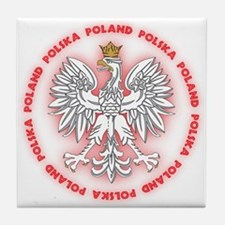 Polish White Eagle C2 Tile Coaster