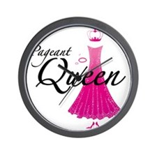 Pageant Queen Wall Clock